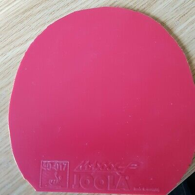 Joola Maxxx-P Table Tennis Rubber Red Max thick