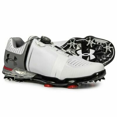 8601bc8019f Under Armour Spieth One Boa Golf Shoes New Men s White black red Multiple  Sizes