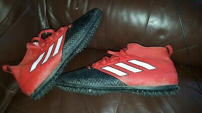 ee9a327a60fd adidas Performance Mens PRIMEMESH TF Astro Turf Football Trainers - Red UK 9