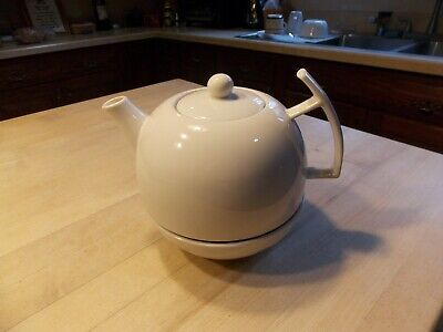 Vintage Porcelain Tea Pot With Warmer Unique