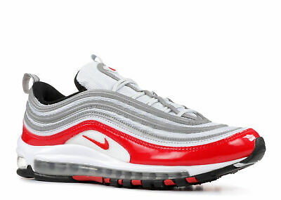 MENS AIR MAX 97 White Pure University Red Size 12 $100.00