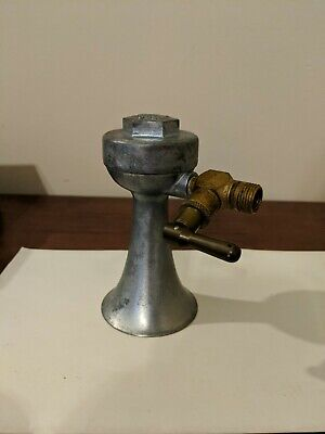 VINTAGE FALCON BOAT AIR HORN, Pat # 2,840,032 SUMMIT, NJ USA, metal & brass