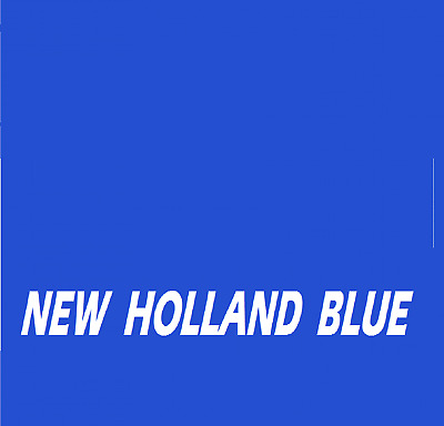 NEW HOLLAND BLUE RAL5105 Tractor Agricultural Enamel Gloss Paint