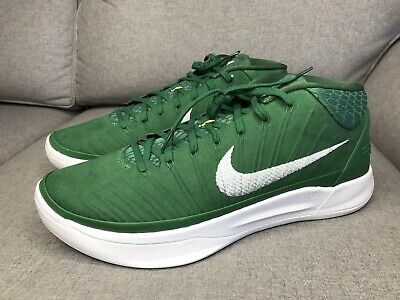 0a264635f882 NIKE KOBE AD TB Promo Basketball Shoes 942521-303 Green Mens Size 13 ...