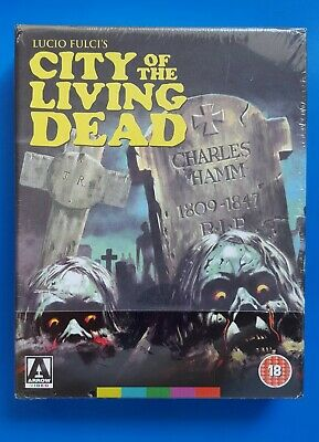 CITY OF THE LIVING DEAD ARROW VIDEO LE U.K. import OOP Blu-ray Like New