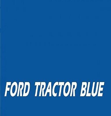 FORD TRACTOR BLUE RAL5001 Agricultural Tractor Machinery Enamel Gloss Paint