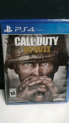 Call of Duty: WWII (Sony PlayStation 4, 2017) New