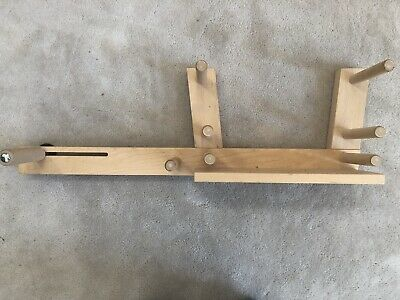 Schacht Inkle Loom Solid Wood For Belts & Bands Adjustable W/ Instructions
