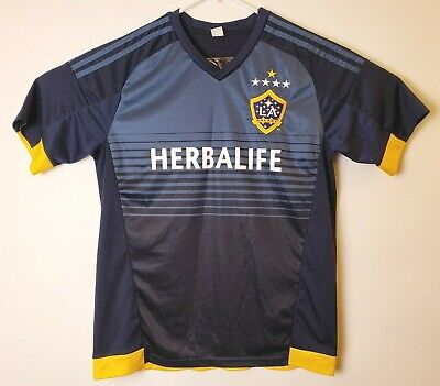 f434172089c ADIDAS LA GALAXY Womens Jersey Polo Herbalife MLS Soccer ClimaCool ...