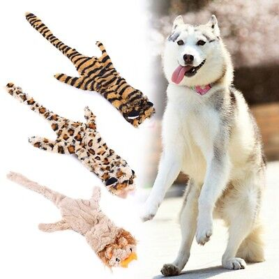 Lovely Plush Teeth Sound Toy Creative Dog Squeak Toys Cartoon Animal Gifts GA