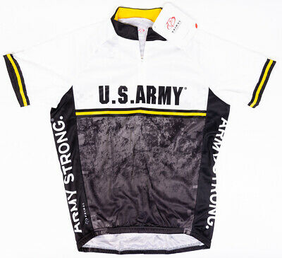 cfca47840 Primal Wear Mens US Army Strength Raglan Cycling Jersey S S Size Small