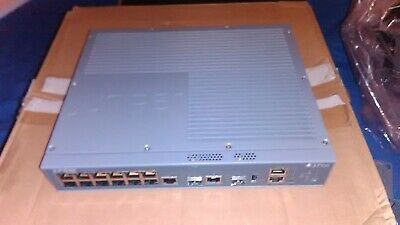 Juniper Networks EX2200-C Fanless 12 Port Gigabit Switch JUNOS 14.1X53