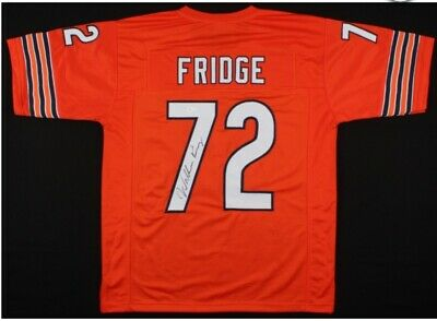 c32e7e47b80 WILLIAM PERRY AUTOGRAPHED/SIGNED Jersey JSA Chicago Bears The Fridge ...