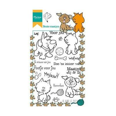 Hetty`s Squirrels HT1637 Marianne Design Clear Cling Stamps