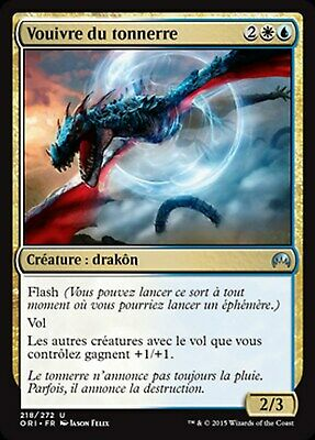 MRM FRENCH 4x Vouivre du tonnerre (Thunderclap Wyvern) MTG magic ORI