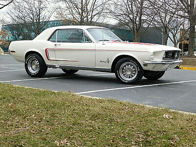 1968 Ford Mustang Hardtop, Sprint Pkg 'B', A/C, Auto V-8 Beautifully Restored #'s Match Mustang , 289 c.i., C-4,  (video)