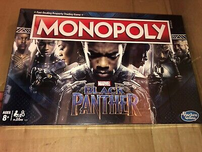 New Monopoly Black Panther Edition Board Game