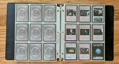 Lot of 300-400 Star Wars CCG Cards with a few Topps Force Attack Cards