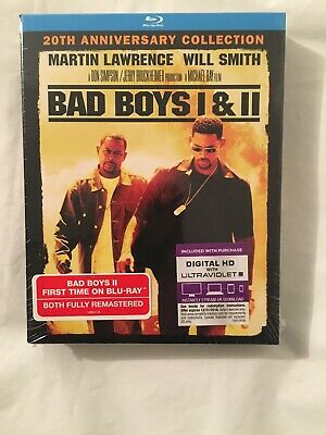 Bad Boys I & II (20th Anniversary Collection) [Blu-ray] 2 movies for $17