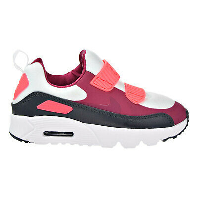 on sale ef6e4 82614 Nike Air Max Tiny 90 (PS) Preschool Shoes White Noble Red Anthracite