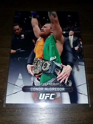 2015 Topps UFC High Impact #50 - CONOR McGREGOR - MMA card