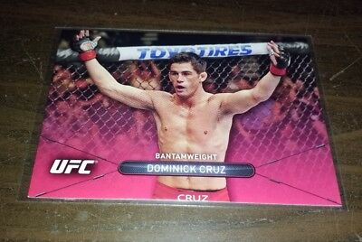 2015 Topps UFC High Impact Ruby Red 2/8 #21 - DOMINICK CRUZ - MMA card
