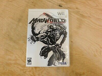 MadWorld [CIB Complete in Box] (Nintendo Wii) Tested & Working