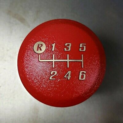 SSCO CUSTOM WRINKLE RED BLOCK 700 GRAM WEIGHTED FOR FRS BRZ SHIFT KNOB 12x1.25mm