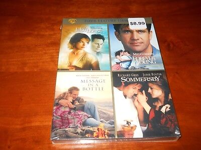 Love Stories Collection (DVD, 2011)-The Lake House/Forever Young/Sommersby