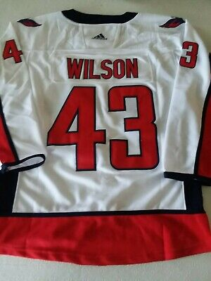 sports shoes f7dfb 3024c NEW WASHINGTON CAPITALS #43 Tom Wilson Jersey W/Stanley Cup Champion Patch  S-3XL
