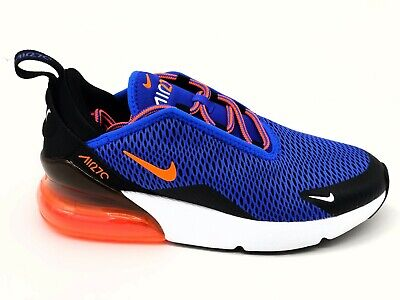 cheap for discount f816c e69e6 Nike Air Max 270 Little Kids Racer Blue Crimson AO2372-401 Youth Size 3Y
