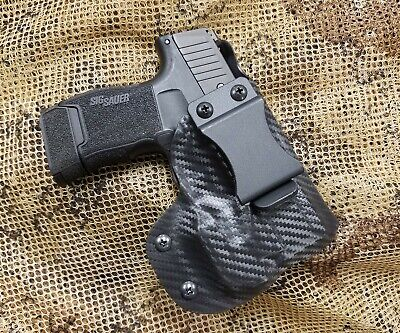 GUNNER's CUSTOM HOLSTERS IWB fits SIG SAUER P365 with Streamlight TLR-6 TLR6