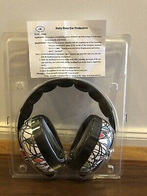 Baby Banz Bubs Earmuffs Squiggle 3 Months -2 Years (Only Used Twice!)