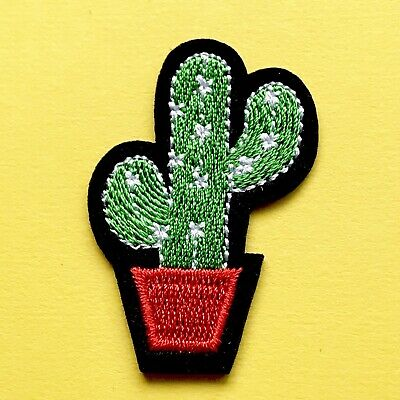 Cactus iron on patch /embroidery patches