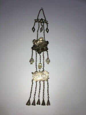 Exquisite Antique Chinese Silver Chain