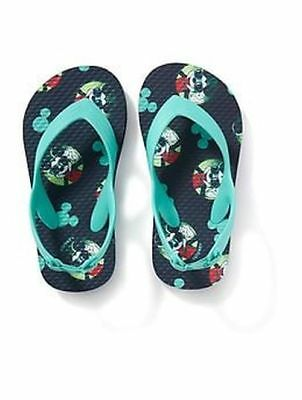 c8d009a1c313 New Old Navy Disney Junior Mickey Mouse Toddler Boys Flip Flops Sandals  Size 5