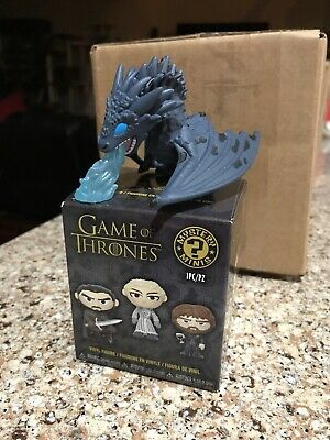 Funko Mystery Minis Game Of Thrones Icy Viserion Ice Dragon Box Lunch Exclusive