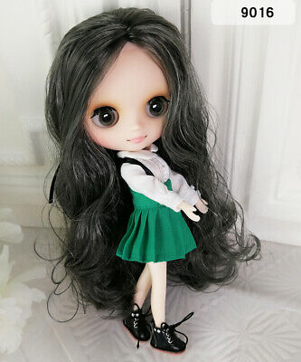 Hand set Dolls 8Neo Middie Blythe Doll Black Hair Nude Doll from Factory 99008+Gift