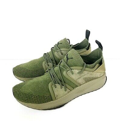 Puma Tsugi Blaze Evoknit Running Shoes Olive Green Mens Size 11 Sneakers c8eb88b36