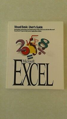 Computer User Manual / Guide for Visual Basic in Microsoft Excel Version 5.0