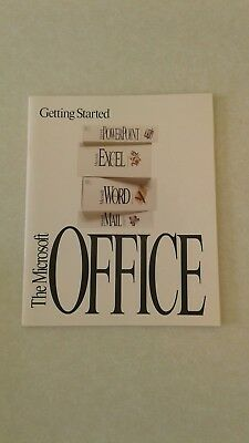 Computer Manual for Getting Started with The Microsoft Office 1992-1993