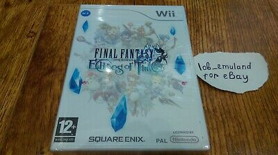 Final Fantasy Crystal Chronicles: Echoes of Time for Nintendo Wii *BRAND NEW PAL