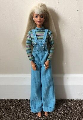 Vintage 90's Cool Blue Jointed Barbie