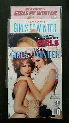 Playboy's Girls of Winter complete collection (all of them) 1984 1988 1996 1999