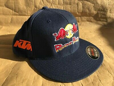 79406e9afb9 RED BULL ATHLETE Only Hat Cap Snapback KTM Rookie Bulls by Flexfit ...