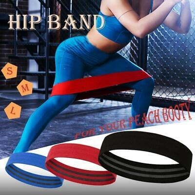 HIP CIRCLE Glute Resistance Band Hip Rotation Exercise Strength Booty Band- I9U7