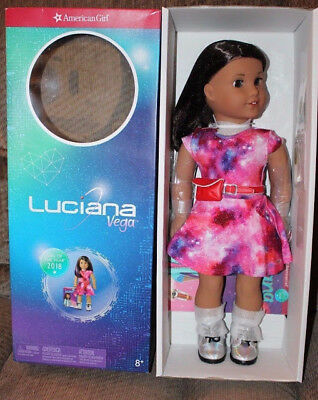 American Girl Doll Luciana Space Enthusiast NEW!! Girl Of the Year 2018