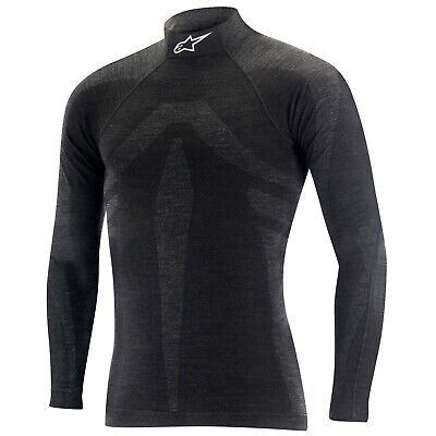 Brand New Alpinestars ZX EVO Nomex Long Sleeve Top Black/Grey Size M/L