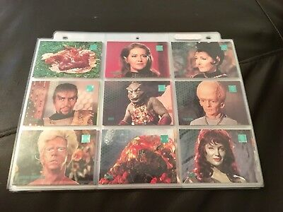 Star Trek Phase Two Complete Base Set Plus Advetising Inserts Skybox 1996