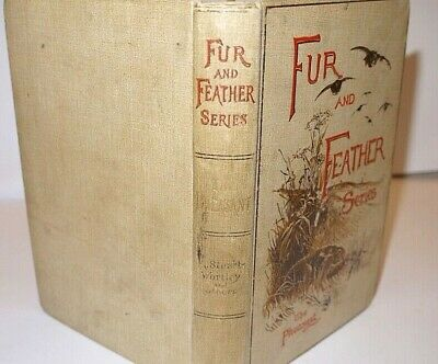 The Pheasant 'Fur and Feather' Series 1st Edition 1895 * Lovely Copy *